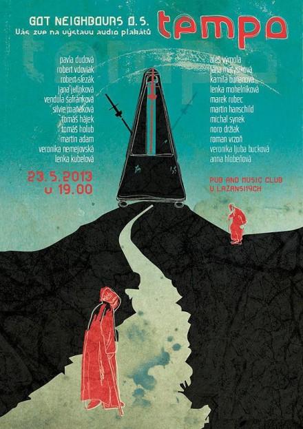 TEMPO – audio/poster exhibition