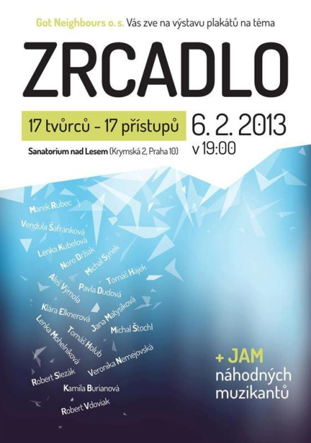 ZRCADLO / MIRROR – poster exhibition