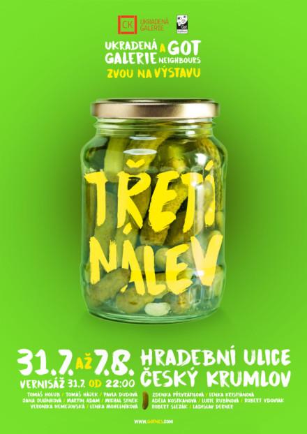 TŘETÍ NÁLEV – common exhibition